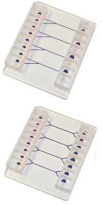 VenaDeltaY1 and VenaDeltaY2 Biochips