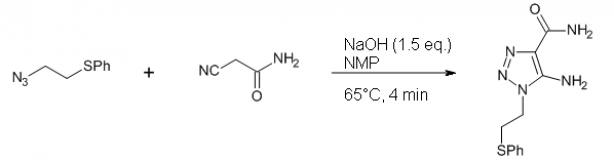 5 – Triazole synthesis by [3+2]-cycloaddition